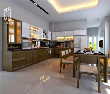 Thiết kế tủ bếp công ty nội thất Đà Nẵng Cội Design