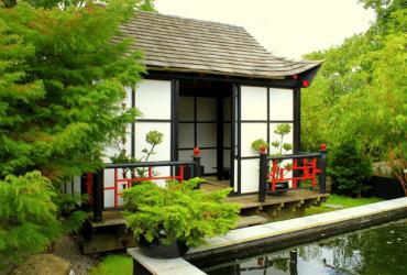 Đặc điểm trong kiến trúc nhà hàng Nhật
