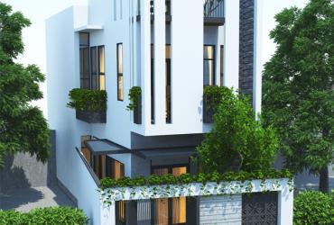 Thiết kế nhà 2 tầng đẹp, đơn giản, tiết kiệm chi phí.