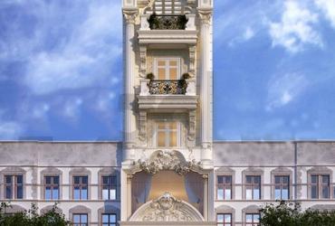 Thiết kế nhà phố cổ điển Châu Âu