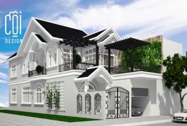 Thiết kế nhà tân cổ điển tại Đà Nẵng