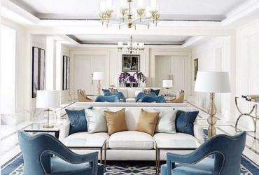 Tinh xảo trong từng chi tiết giúp cho phòng khách tân cổ điển tồn tại với thời gian